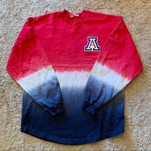 University of Arizona Ombré Spirit Long Sleeve